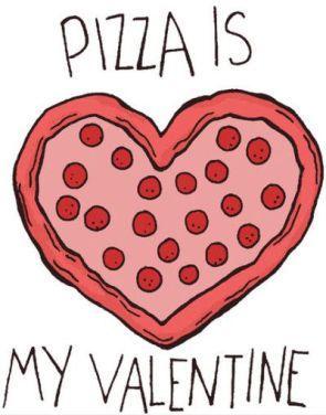 pizza valentine