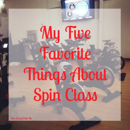 Friday Five - My five favorite things about spin class