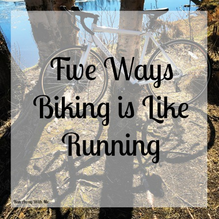 Friday Five - Five Ways Biking is Like Running