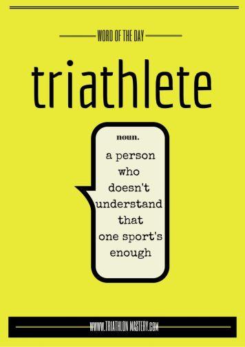 triathlete definition