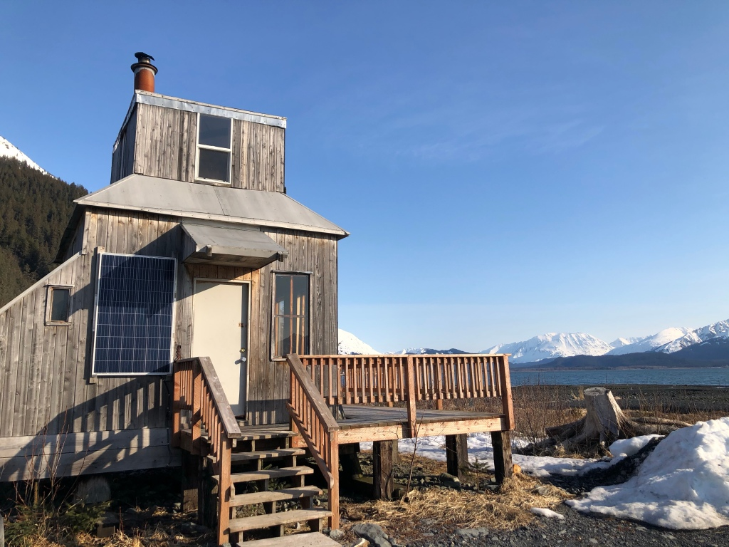 The Rocket House cabin!